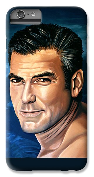 George Clooney 2 IPhone 6 Plus Case