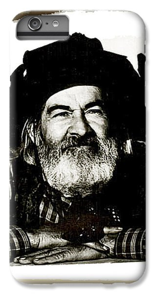 George Hayes Portrait #1 Card IPhone 6 Plus Case