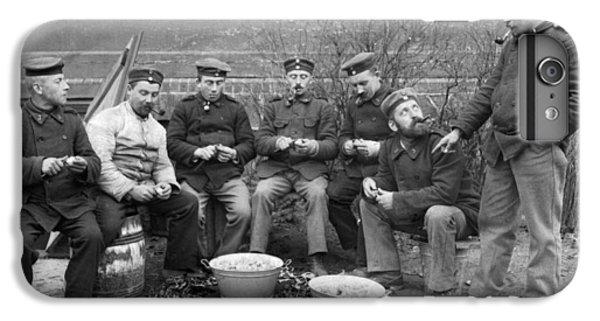 Germans Peeling Potatoes IPhone 6 Plus Case by Underwood Archives