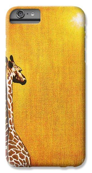 Giraffe Looking Back IPhone 6 Plus Case