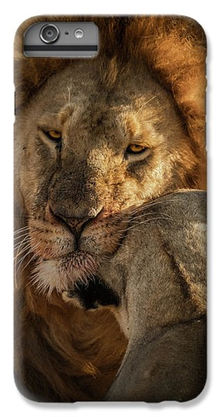 Lion iPhone 6 Plus Case - Give Me Some Love by Faisal Alnomas