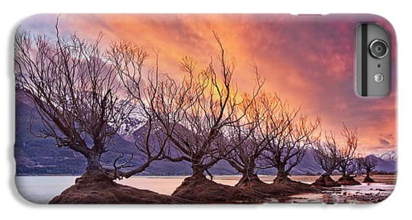 Mountain Sunset iPhone 6 Plus Case - Glenorchy On Fire by Yan Zhang