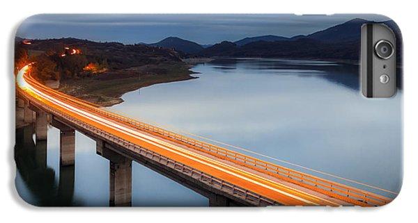 Architecture iPhone 6 Plus Case - Glowing Bridge by Evgeni Dinev