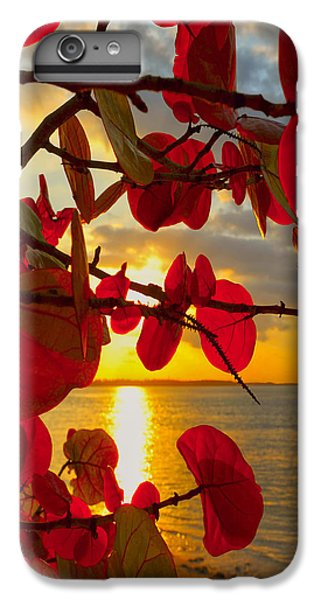 Glowing Red IPhone 6 Plus Case