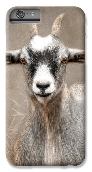 Goat Portrait IPhone 6 Plus Case by Lori Deiter
