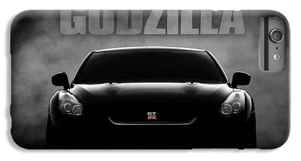 Car iPhone 6 Plus Case - Godzilla by Douglas Pittman