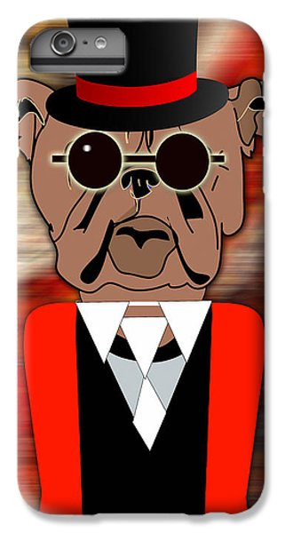 Going Somewhere Mr Bulldog IPhone 6 Plus Case by Marvin Blaine