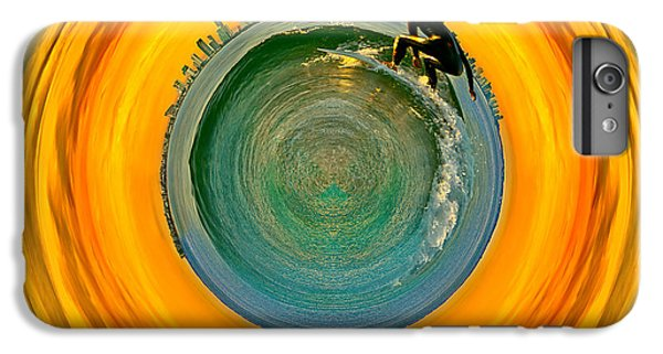 Miami iPhone 6 Plus Case - Gold Coast Surfer Circagraph by Az Jackson