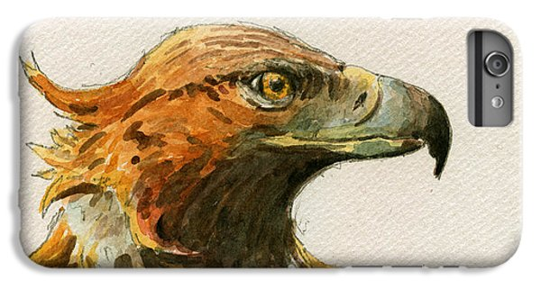 Mouse iPhone 6 Plus Case - Golden Eagle by Juan  Bosco