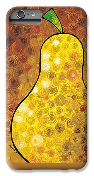 Golden Pear IPhone 6 Plus Case by Sharon Cummings