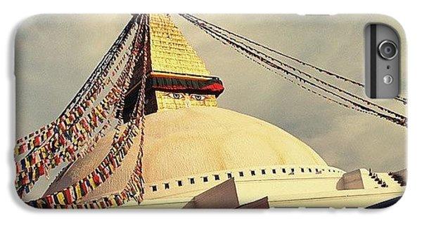 Golden Stupa IPhone 6 Plus Case