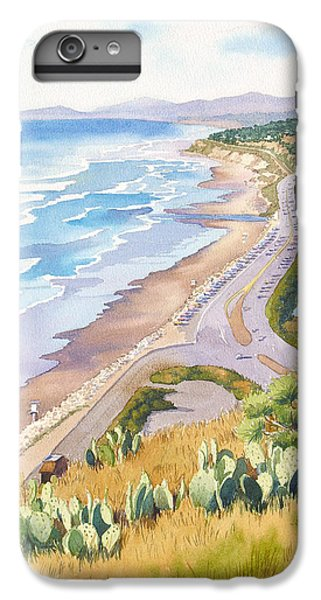 Pacific Ocean iPhone 6 Plus Case - Golden View From Torrey Pines by Mary Helmreich