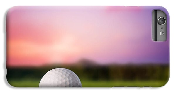 Golf Ball On Tee At Sunset IPhone 6 Plus Case by Michal Bednarek