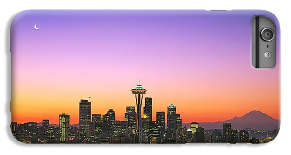 Good Morning America. IPhone 6 Plus Case by King Wu