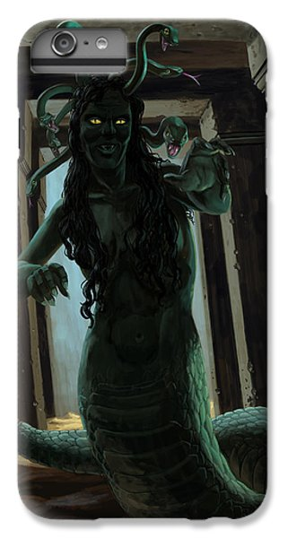 Gorgon Medusa IPhone 6 Plus Case by Martin Davey