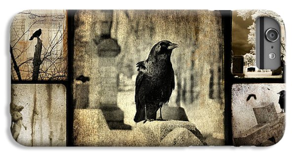 Blackbird iPhone 6 Plus Case - Gothic And Crows by Gothicrow Images