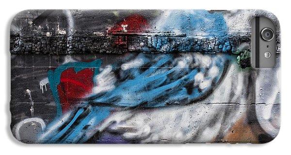 Graffiti Bluejay IPhone 6 Plus Case by Carol Leigh