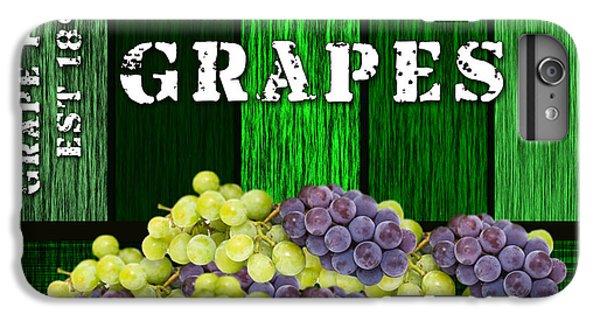 Grape Farm IPhone 6 Plus Case by Marvin Blaine