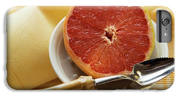 Grapefruit Half With Grapefruit Spoon In A Bowl IPhone 6 Plus Case