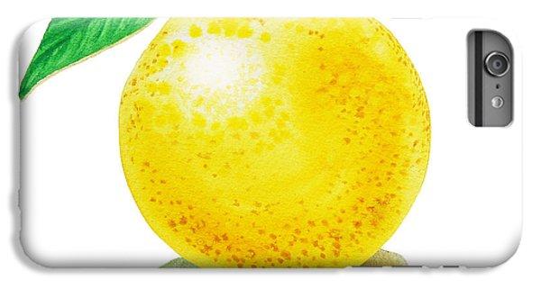 Grapefruit IPhone 6 Plus Case by Irina Sztukowski