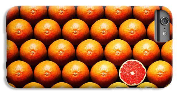 Grapefruit Slice Between Group IPhone 6 Plus Case by Johan Swanepoel
