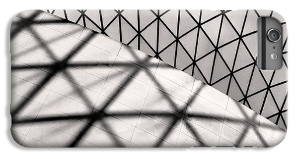 London iPhone 6 Plus Case - Great Court Abstract by Rona Black