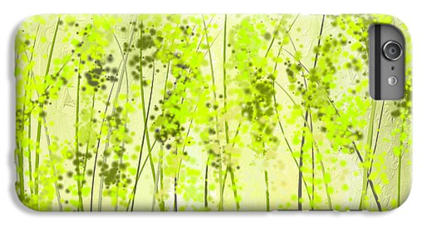Green Abstract Art IPhone 6 Plus Case