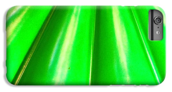 Bright iPhone 6 Plus Case - Green Abstract by Christy Beckwith