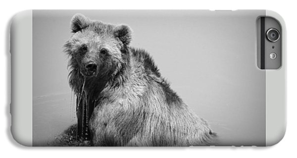 IPhone 6 Plus Case featuring the photograph Grizzly Bear Bath Time by Karen Shackles