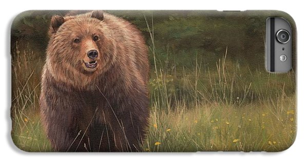 Grizzly IPhone 6 Plus Case by David Stribbling