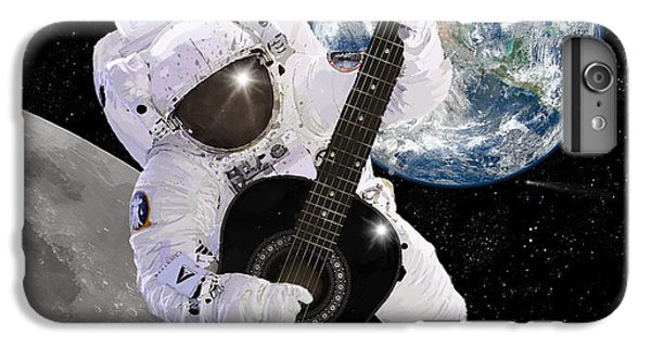 Astronauts iPhone 6 Plus Case - Ground Control To Major Tom by Nikki Marie Smith