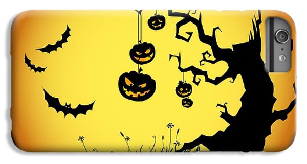 Halloween Haunted Tree IPhone 6 Plus Case by Gianfranco Weiss