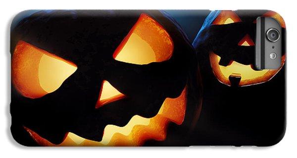 Halloween Pumpkins Closeup -  Jack O'lantern IPhone 6 Plus Case by Johan Swanepoel
