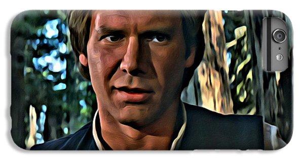 Han Solo iPhone 6 Plus Case - Han Solo  by Florian Rodarte