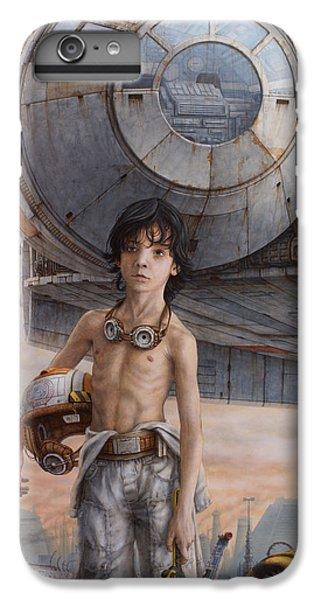 Han Solo iPhone 6 Plus Case - Han Solo by Jose Luis Munoz Luque