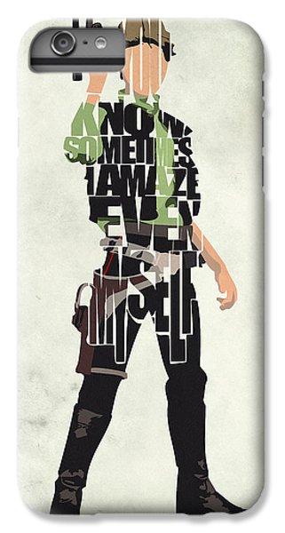 Han Solo iPhone 6 Plus Case - Han Solo Vol 2 - Star Wars by Inspirowl Design
