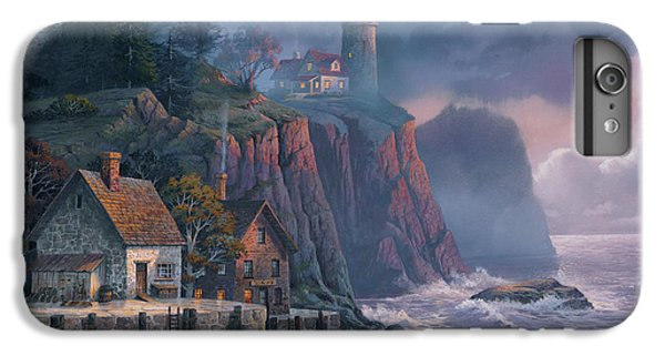 Scenic iPhone 6 Plus Case - Harbor Light Hideaway by Michael Humphries