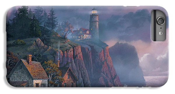 iPhone 6 Plus Case - Harbor Light Hideaway by Michael Humphries