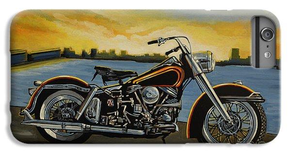 Motorcycle iPhone 6 Plus Case - Harley Davidson Duo Glide by Paul Meijering