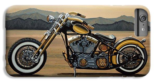 Motorcycle iPhone 6 Plus Case - Harley Davidson by Paul Meijering