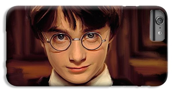 Wizard iPhone 6 Plus Case - Harry Potter by Paul Tagliamonte
