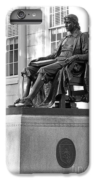 John Harvard Statue At Harvard University IPhone 6 Plus Case by University Icons