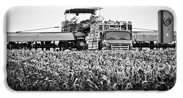 IPhone 6 Plus Case featuring the photograph Harvesting Time by Ricky L Jones
