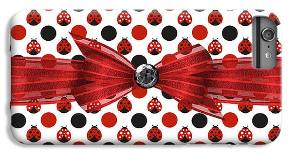 Healing Ladybugs IPhone 6 Plus Case by Debra  Miller