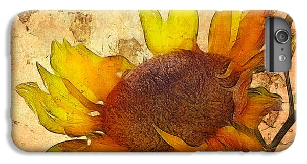 Helianthus IPhone 6 Plus Case by John Edwards