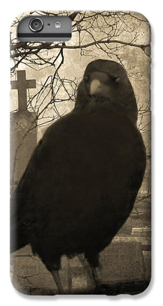 Blackbird iPhone 6 Plus Case - Her Graveyard by Gothicrow Images