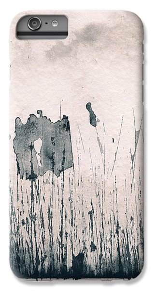 IPhone 6 Plus Case featuring the painting Herbes Souillees by Marc Philippe Joly