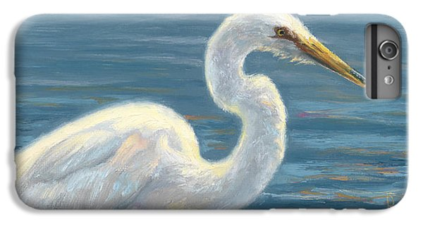 Heron Light IPhone 6 Plus Case by Lucie Bilodeau