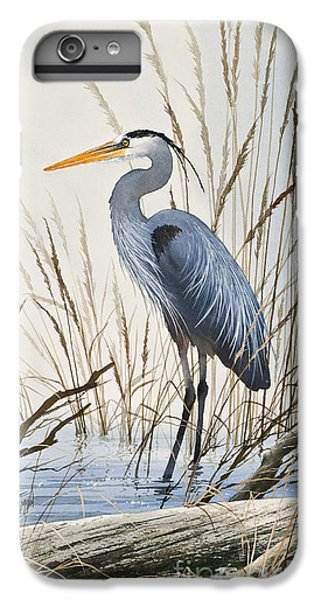 Heron iPhone 6 Plus Case - Herons Natural World by James Williamson