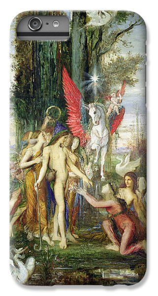 Hesiod And The Muses IPhone 6 Plus Case by Gustave Moreau